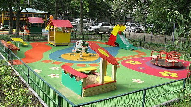 Уличная площадка для детского сада